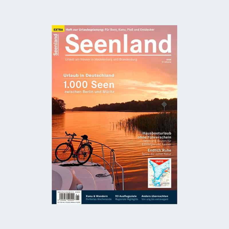 Cover Magazin Seenland 2020