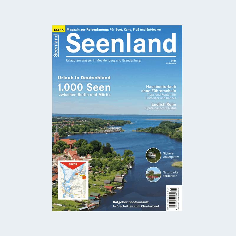 Titelseite Magazin Seenland 2021
